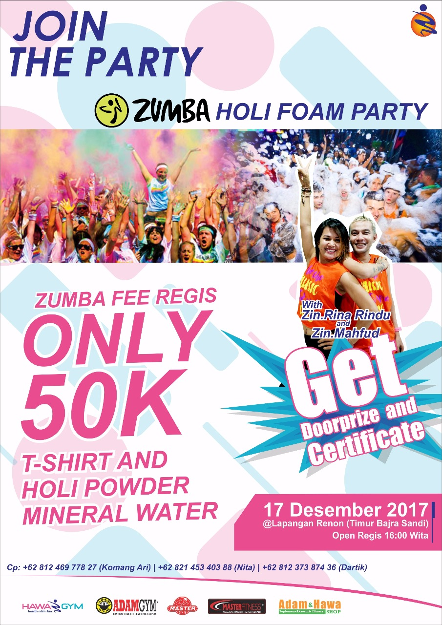 zumba-holi-foam-party-hawa-gym-indonesia