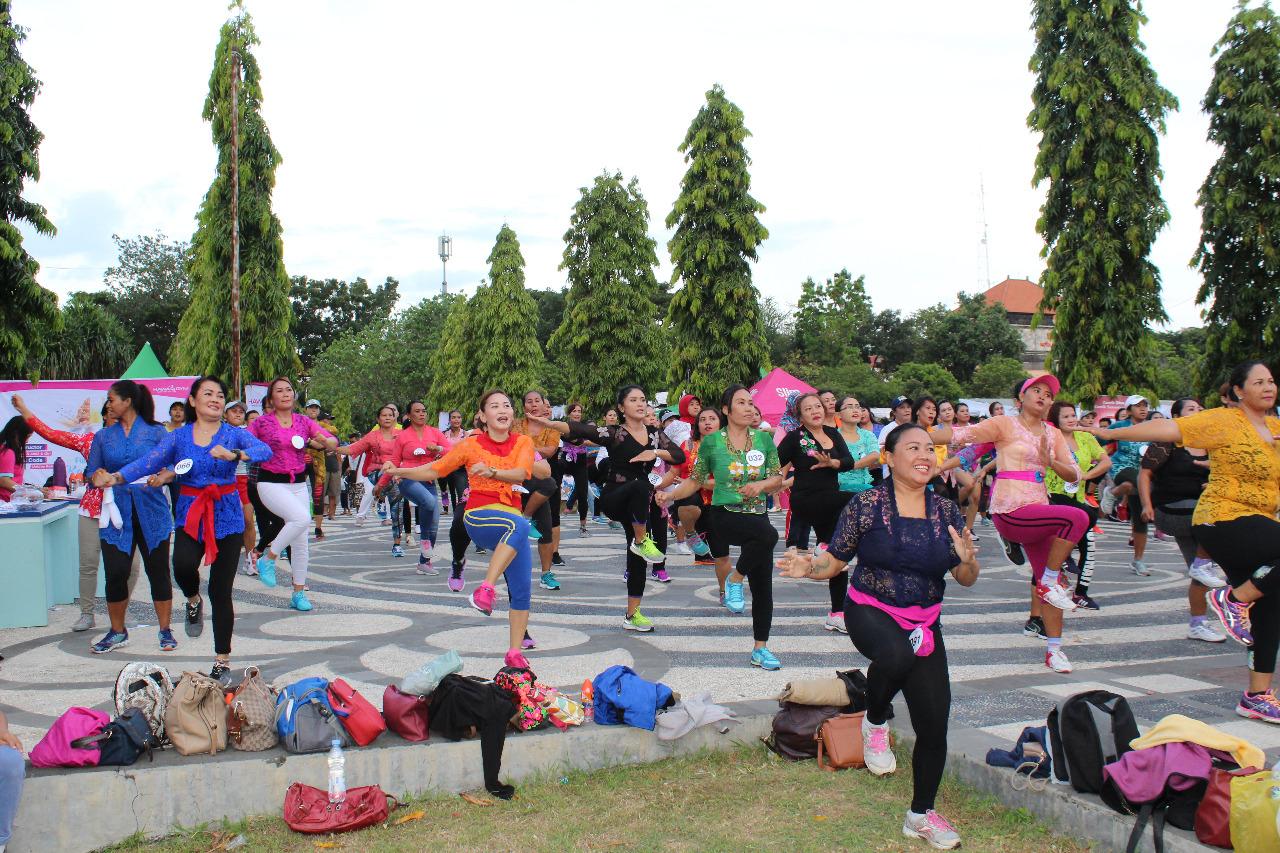 kartini bali - fun aerobik - hawa gym indonesia - lapangan puputan renon - part 5